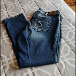 Silver jeans Suki mid slim boot